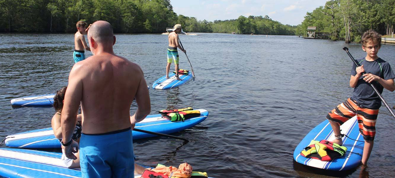 paddle board, paddle boarding myrtle beach, waccamaw river